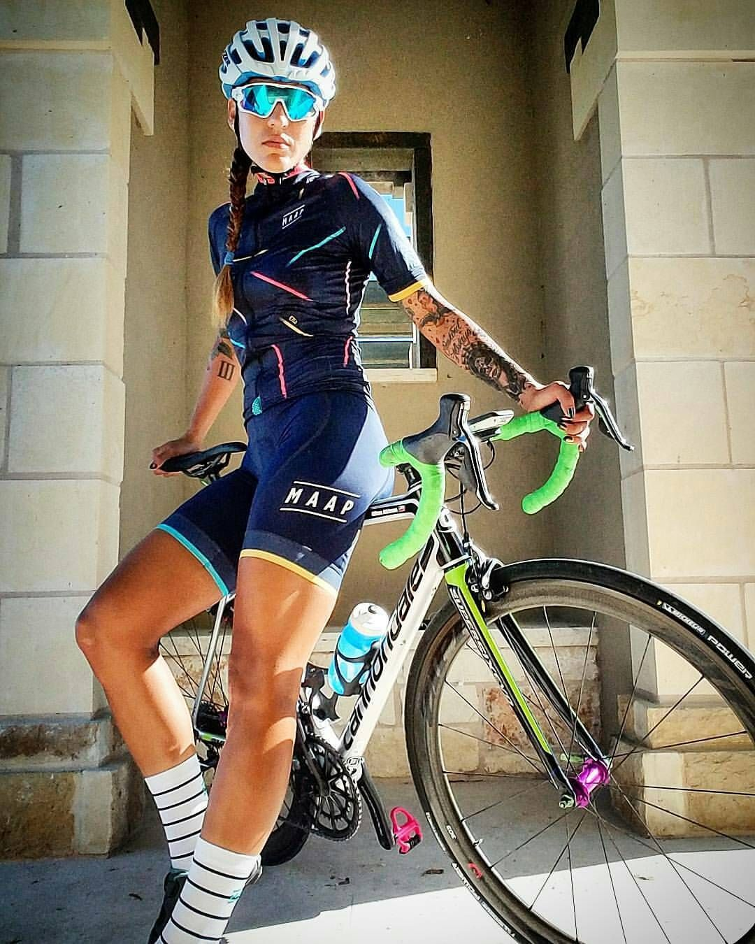 PUT ON CYCLING CLOTHES