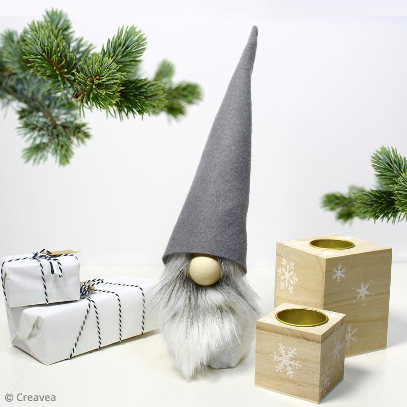 DIY : Comment fabriquer un gnome de Noël ? - Idées conseils et tuto Noël #lutindenoel
