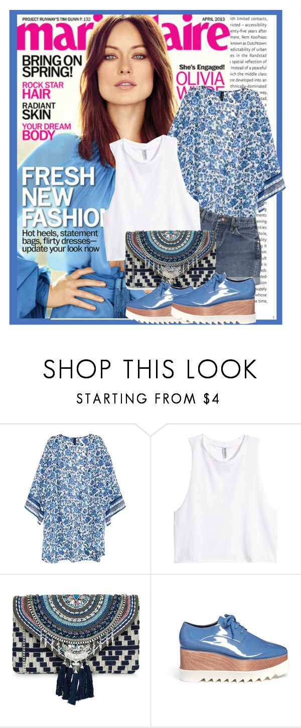 """""""OOTD"""" by sally92 ❤ liked on Polyvore featuring Oris, H&M, Wrangler, New Look and STELLA McCARTNEY"""