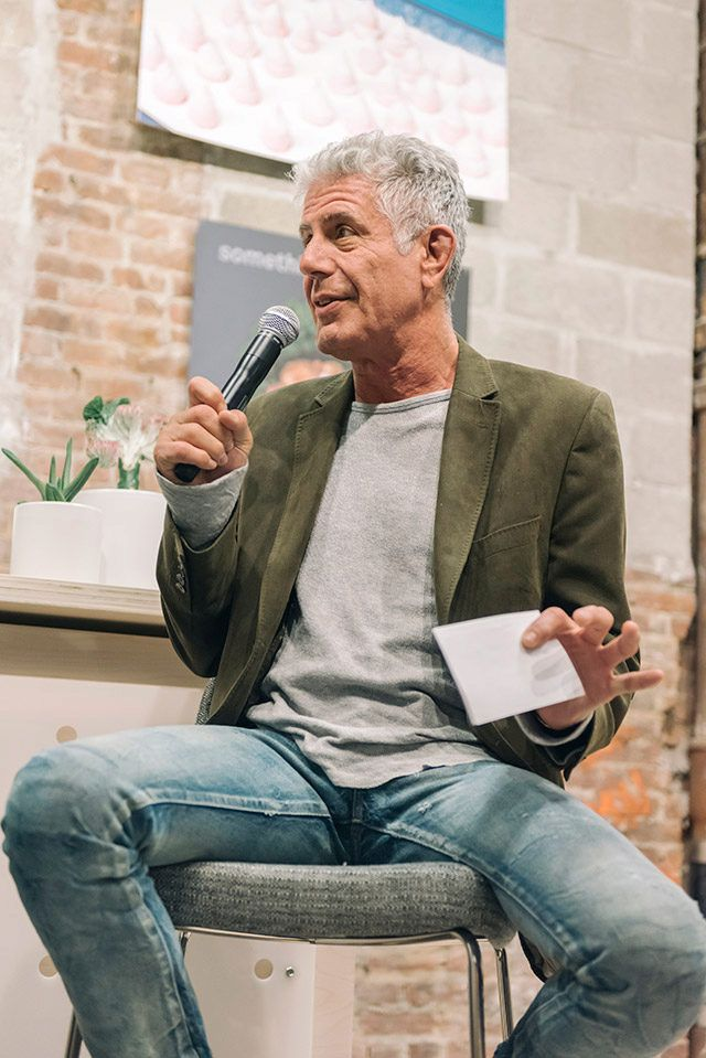 UO Happenings: Questlove And Anthony Bourdain At Herald