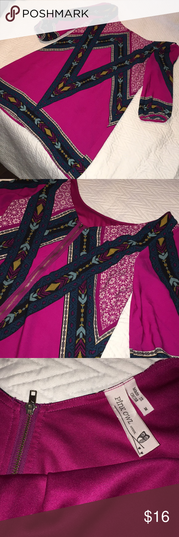 Tribal print dress in my posh picks pinterest dresses