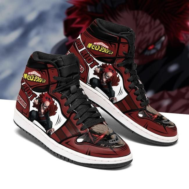 Eijiro Red Riot Jordan Sneakers Custom My Hero Aca