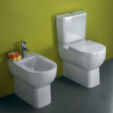 sanitario y bid odeon up compacto de jacob delafon con fondo reducido ideal para espacios spaces