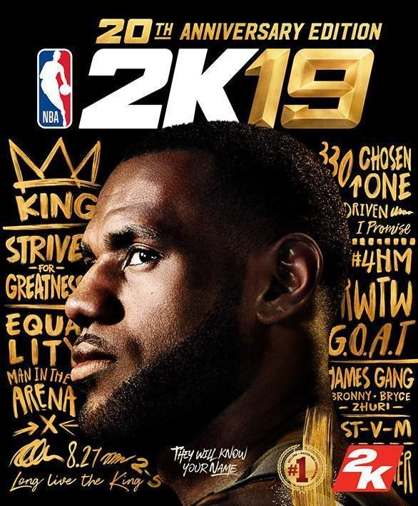 NBA2K19 20th Anniversary Special Edition LeBron PS4