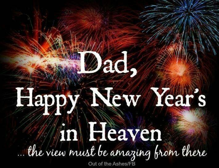 Happy new year in heaven