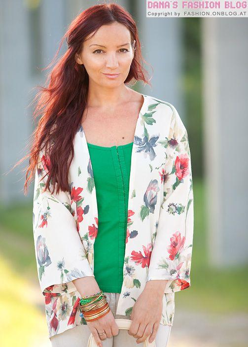 DIY Tutorial: Kimono-Jacke aus einer alten Bluse machen | handmade ...
