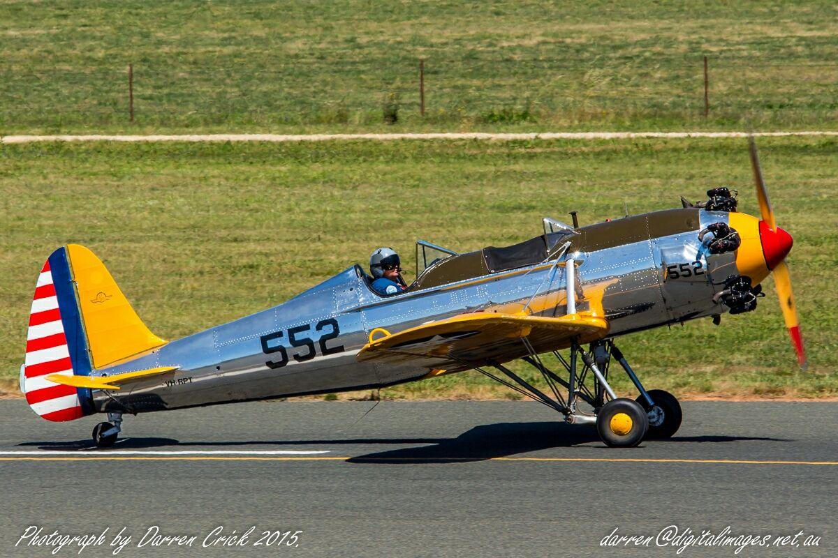 Former U.S. Air Force Ryan PT-22 41-1918 / now VH-RPT #Avgeek #Aviation #Photography #Canon Canon Australia #USAF #WW2