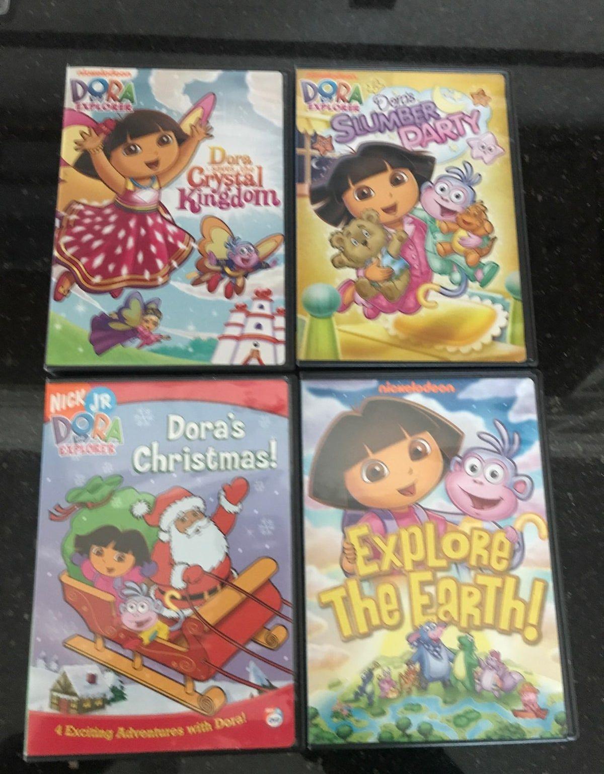 Dora The Explorer Dvds Dora The Explorer Dora Wiggles Birthday