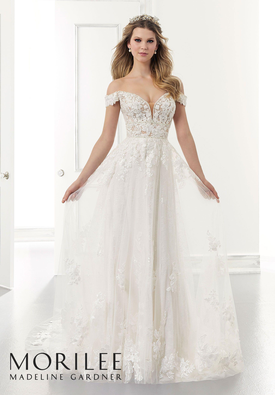 Addison Wedding Dress Morilee Wedding Dresses Lace Bridal Wedding Dresses Bridal Gowns [ 2630 x 1834 Pixel ]