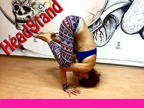 headstand tutorial explained interval power impact yoga