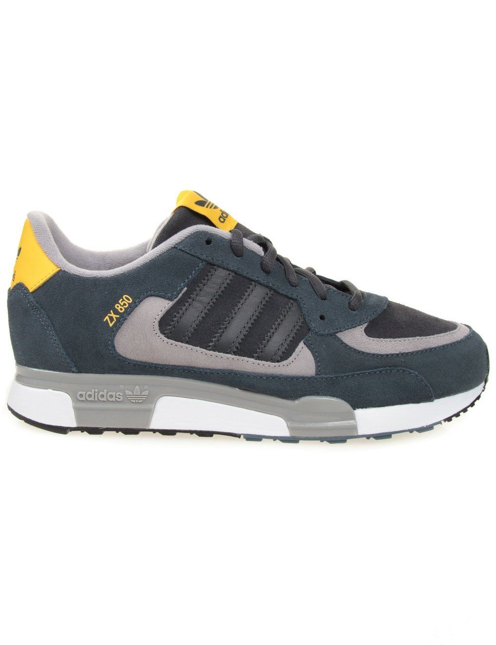 huge selection of 5d782 c704e Adidas Originals ZX 850 - Solid Grey Gold