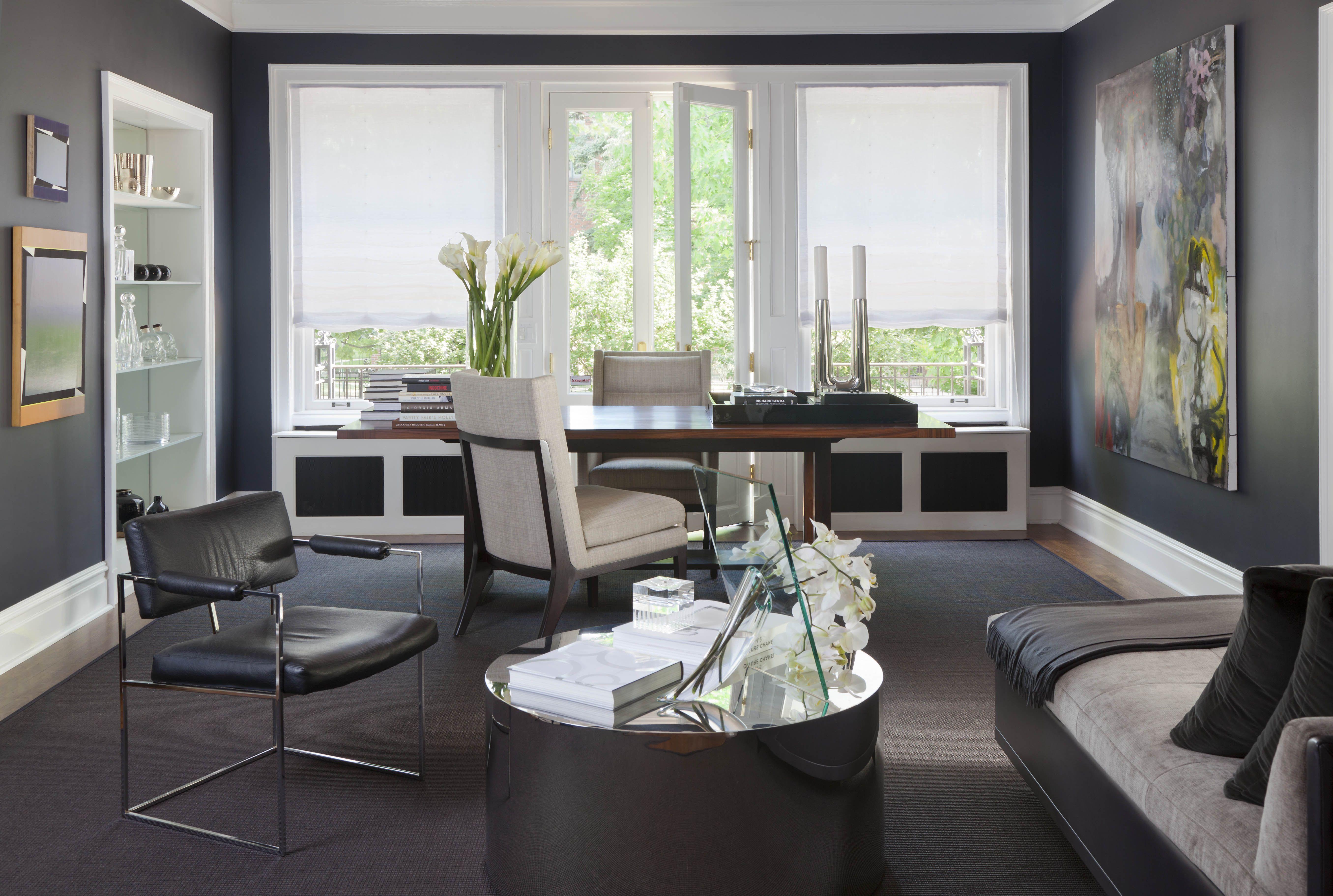 2013 Denver Designer Show House. Study Interiors
