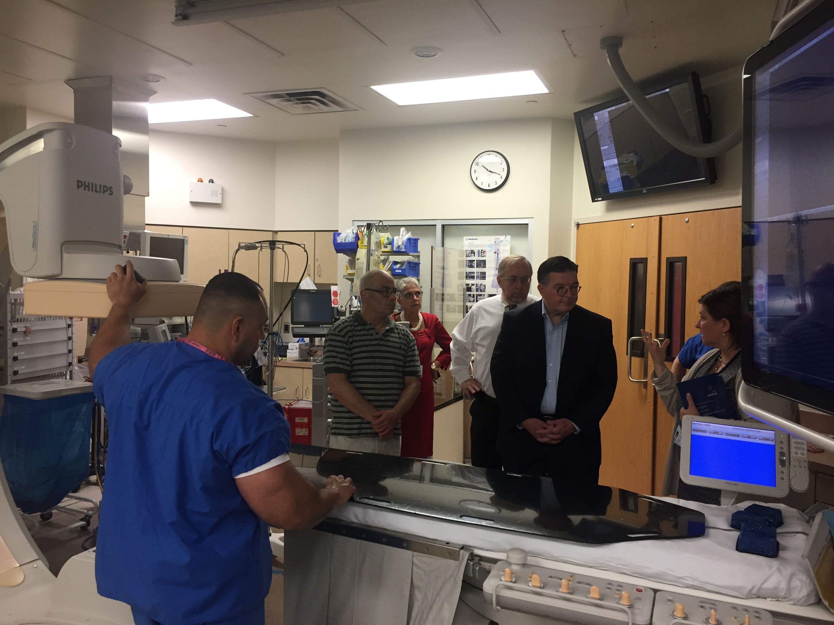 We Were Pleased To Welcome New Jersey State Assemblyman Reed Gusciora D 15 And Mercer County Execu Emergency Department Regional Medical Center Mercer County