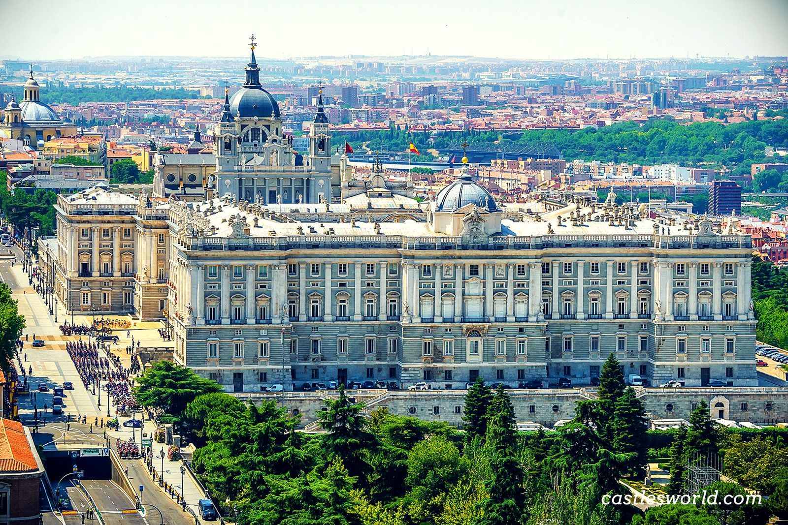 Royal Palace Madrid Spain Although It Is The Official Residence Of The Spanish Royal Family It Is Only Used For Stat Madrid Travel Madrid City Madrid Hotels