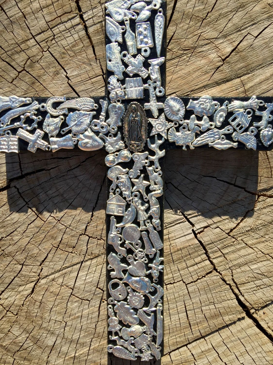 A Personal Favorite From My Etsy Https Www Listing 385398960 Mexican Rustic Cross Wall Decor Black