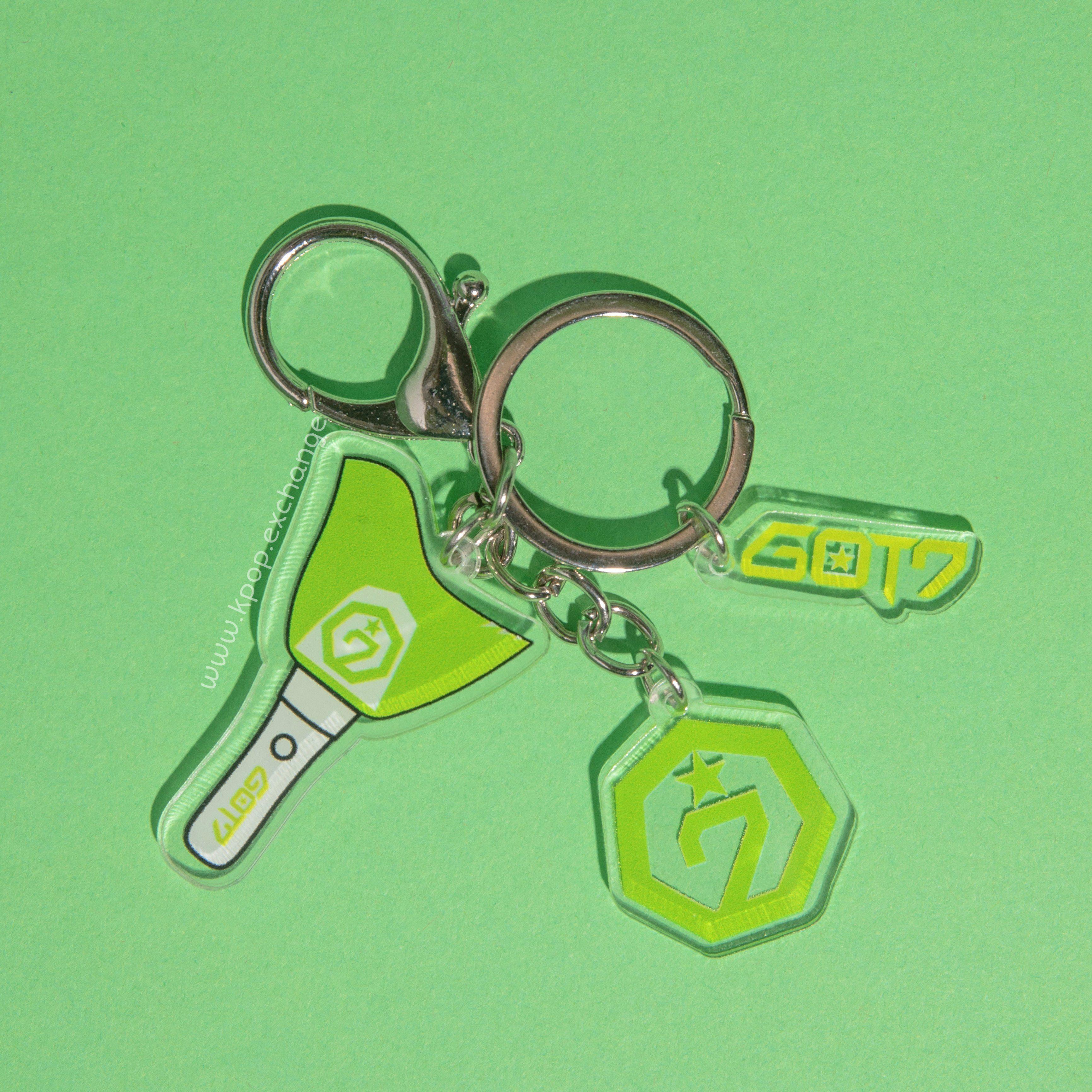 got7 keychain by Kpop Exchange