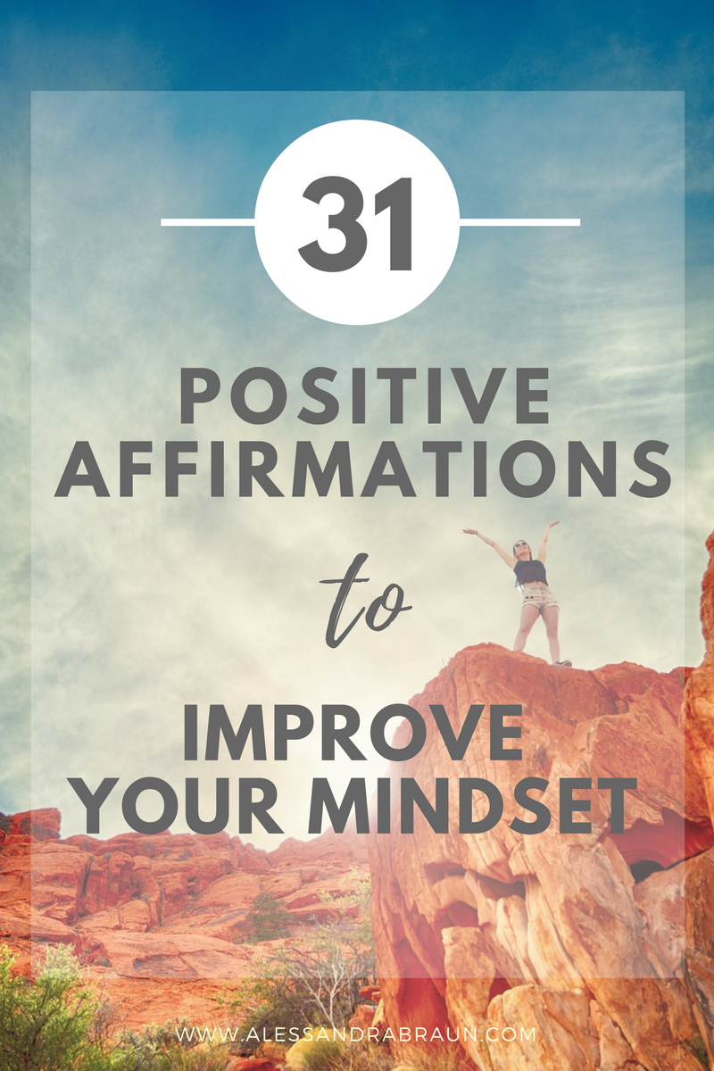 Free Workbook] 31 Positive Affirmations for Every Day of the Month ...