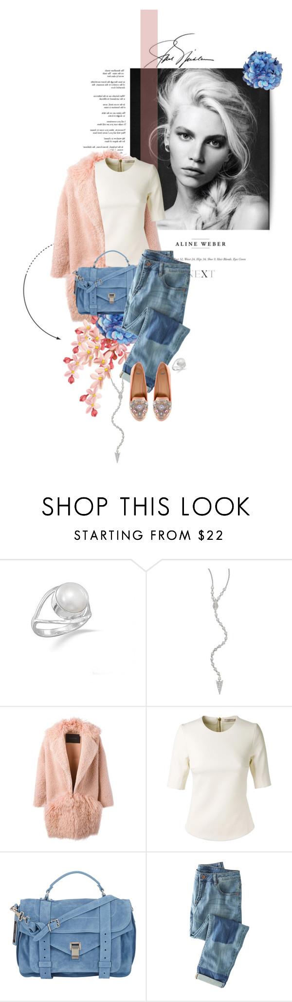 """ASOS MOONBEAM Flats"" by kitti-takacs ❤ liked on Polyvore featuring Meira T, BLANCHA, Bouchra Jarrar, Proenza Schouler, Wrap, ASOS, women's clothing, women's fashion, women and female"
