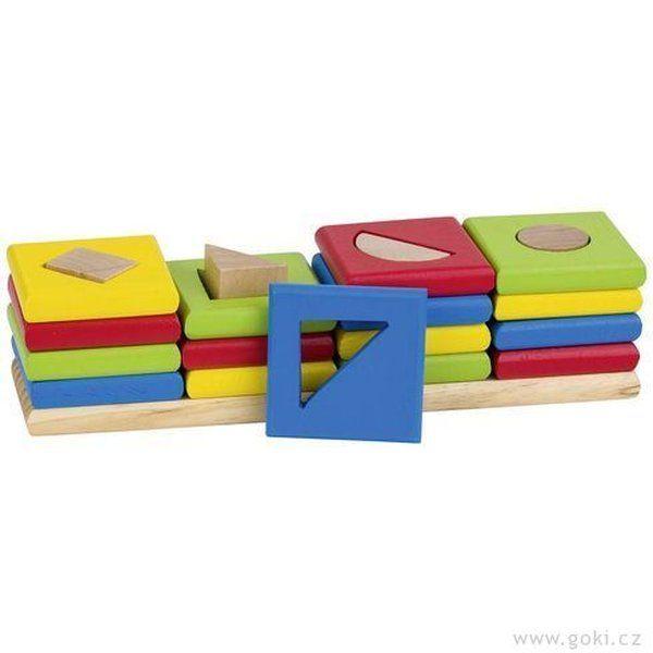 ordenar colores y juego de de formas y de insertar haz de