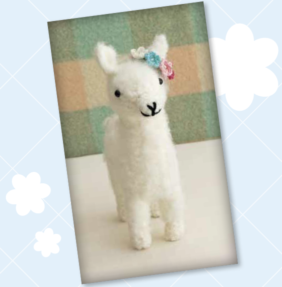 Today\'s crochet pattern for a fluffy alpaca plushy from Cute Critter ...