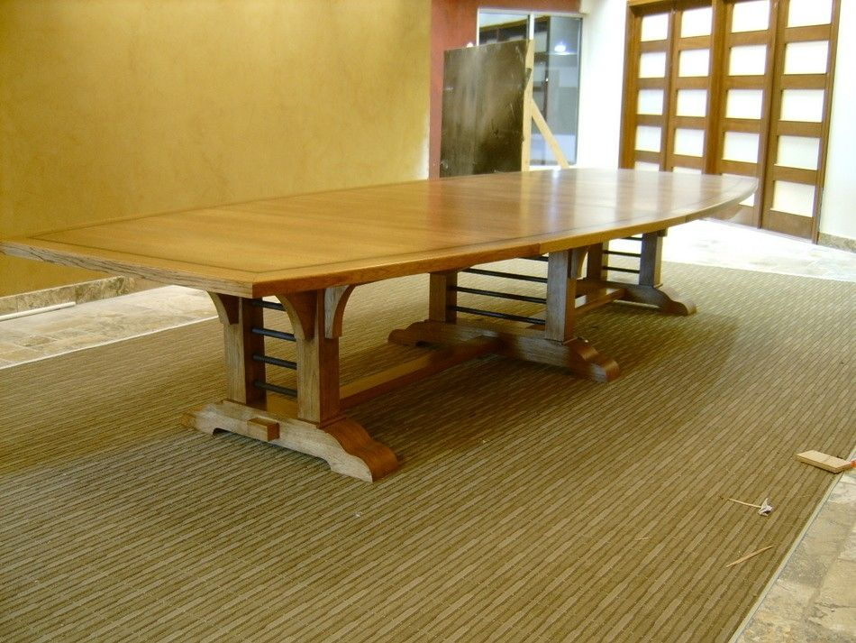 Foot Hickory And Steel Conference Table Products I Love - 15 foot conference table