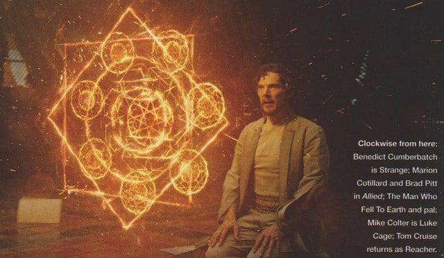 A new batch of Doctor Strange images from the latest issue of Empire have surfaced and these focus on the Stephen's training, spellcasting, and his return to New York City as the Sorcerer Supreme...