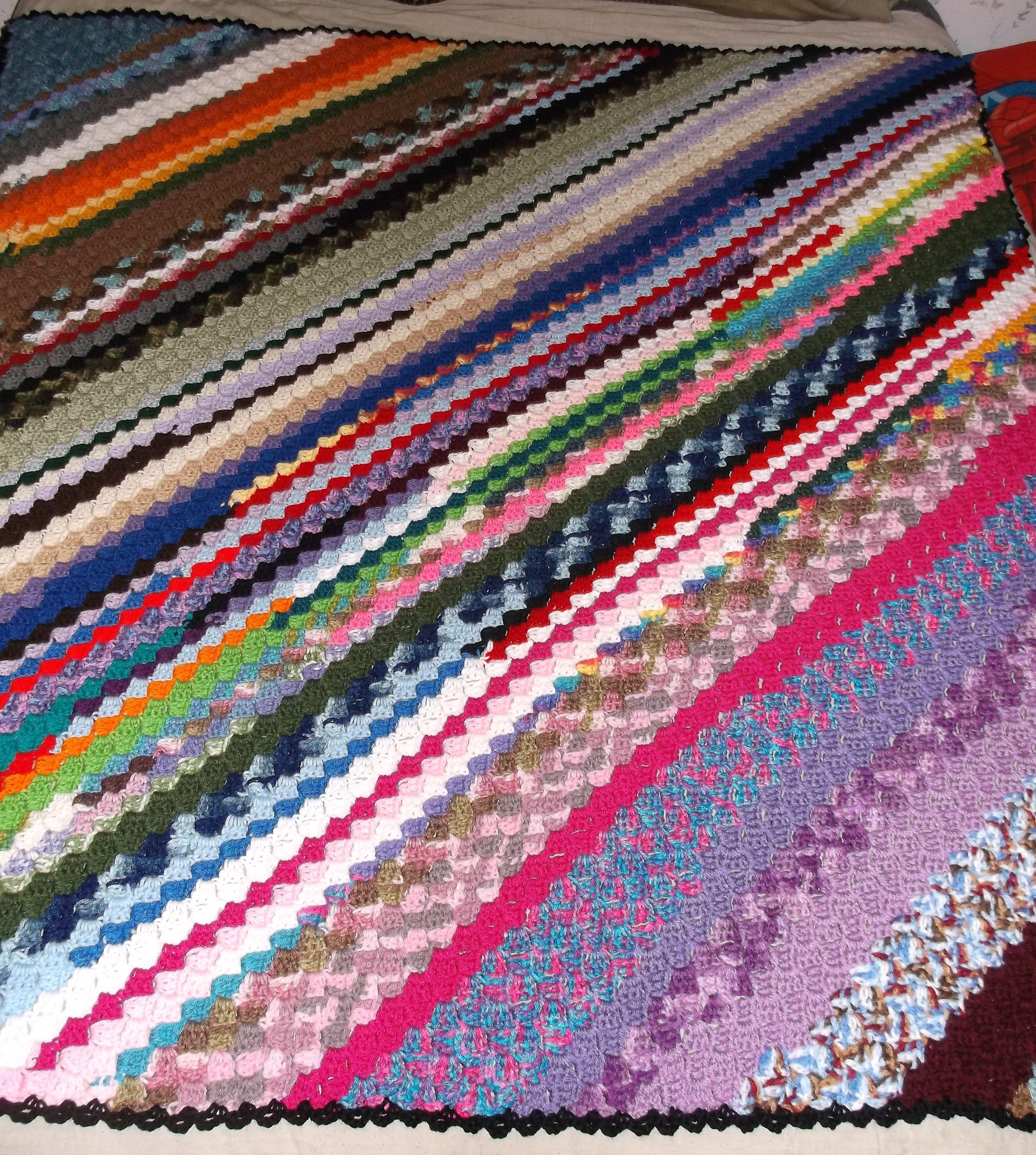 Corner 2 corner scrapghan crochet afghan car blanket httpwww corner 2 corner scrapghan crochet afghan car blanket httpredheart bankloansurffo Choice Image