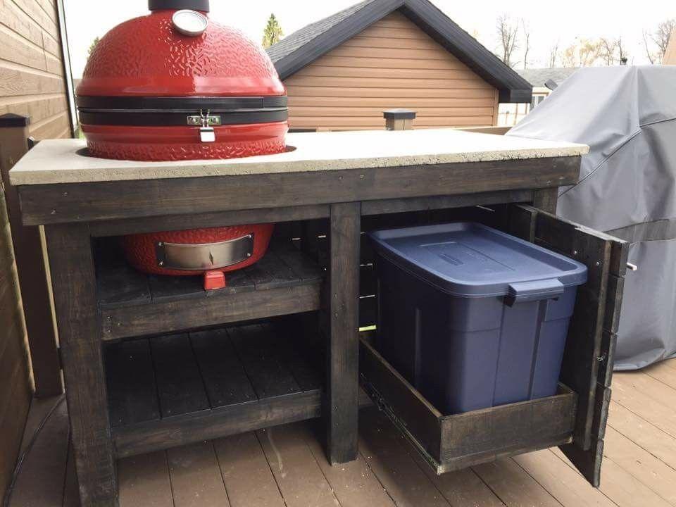 Meuble Pour Barbecue Plan De Travail Exterieur Pour