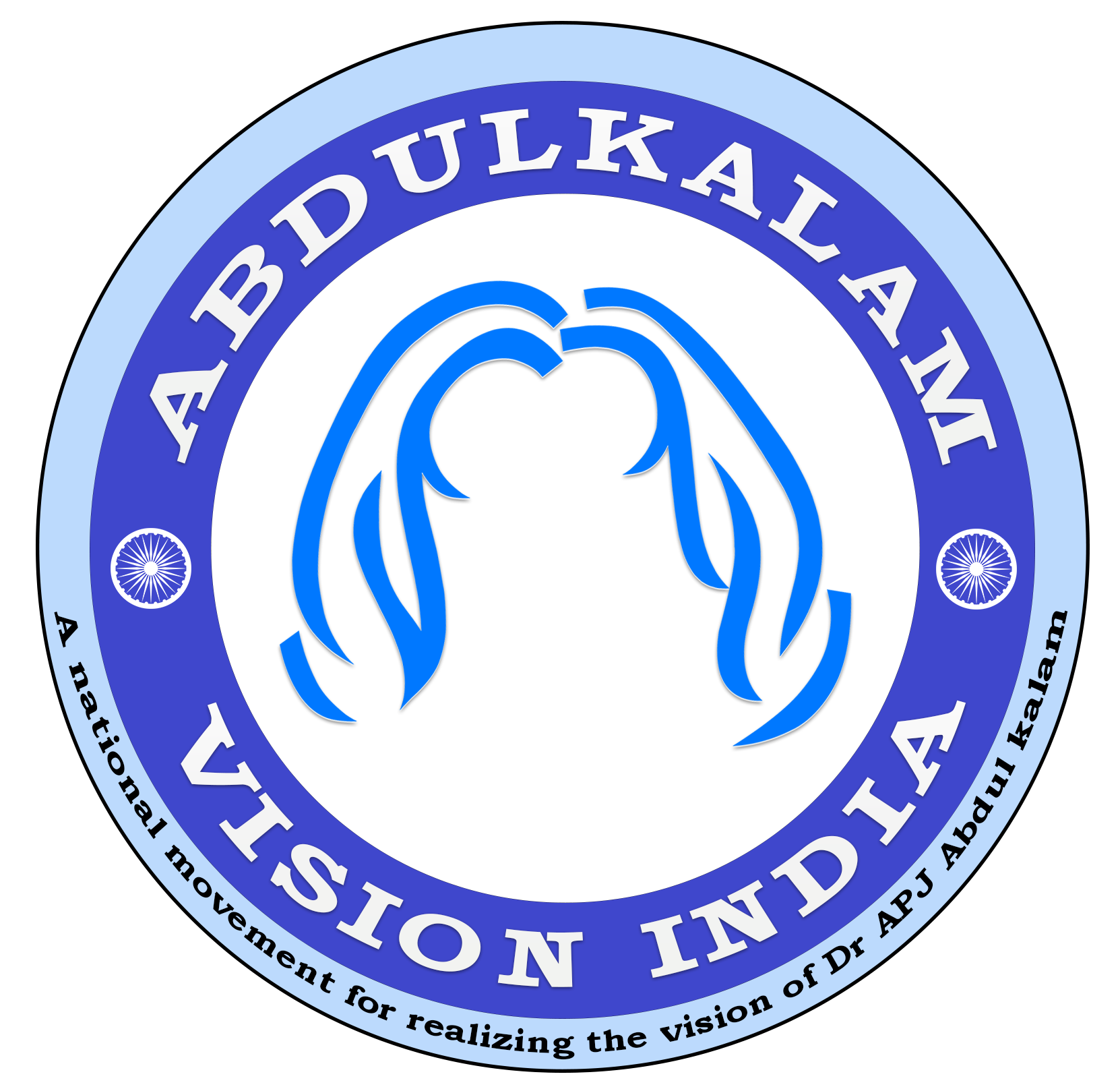 Abdukalam vision india logo for English India logo