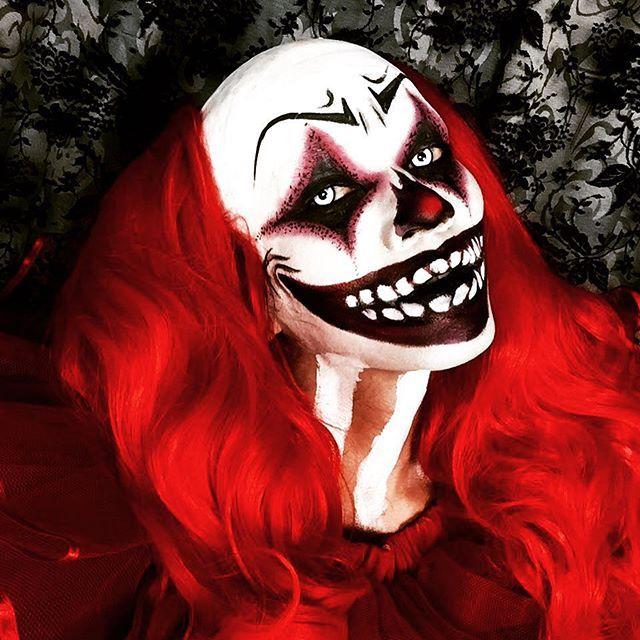 clown makeup halloween on Instagram Madness ) Pinterest Clown - clown ideas for halloween