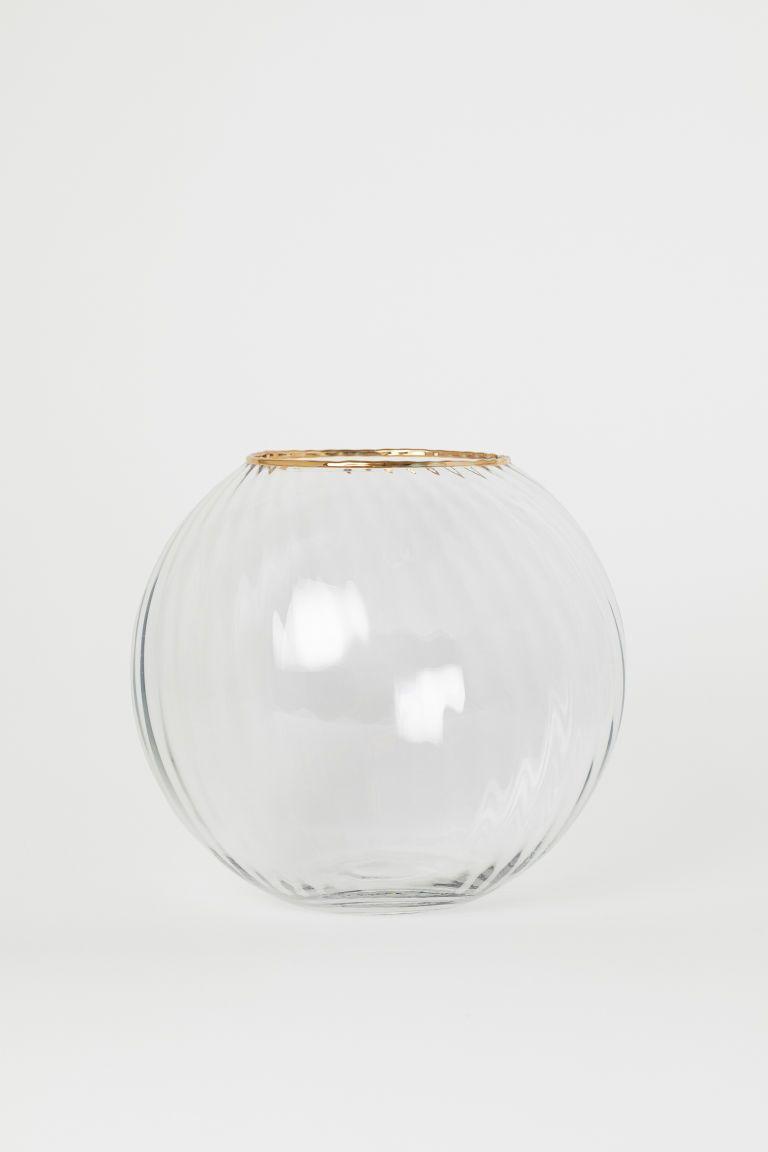 Round Glass Vase Round Glass Vase Vase Small Glass Vases