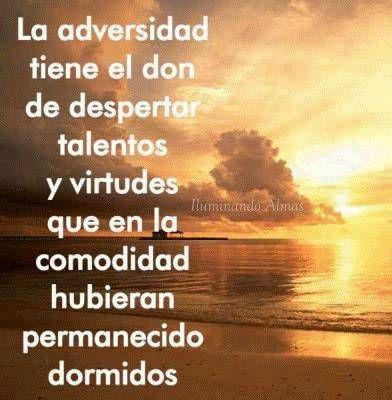 La Adversion Tiene El Don De Despertar Talento Yecla Ofertas