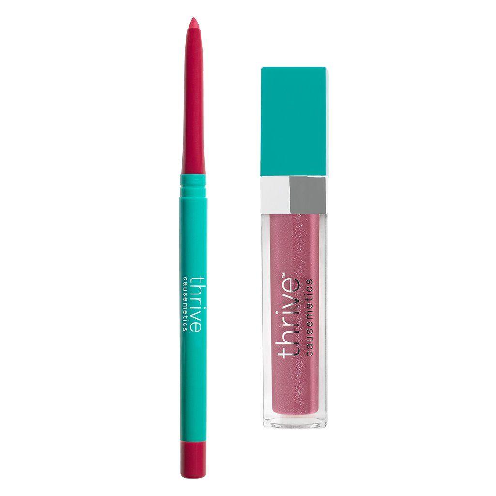 Lip Liner + Gloss Lip Set