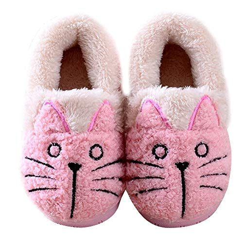 Photo of Women/Kids Family Cute Cat Warm House Slippers Booties