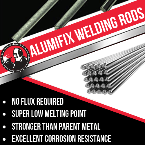 Repair All Things Aluminum Without Expensive Equipment 94 Bought More Than 1 Of These Makes A Sound Joi Welding Rods Aluminum Welding Rods Welding Flux