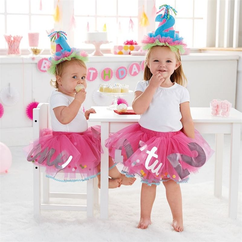 The CUTEST birthday tutu ever! Available for first and second birthday  parties! 5e316411dbd3
