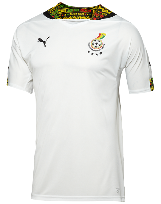 low priced ce809 a25fb Nice Day Sports: New Black Stars Ghana Home and Away Jersey ...