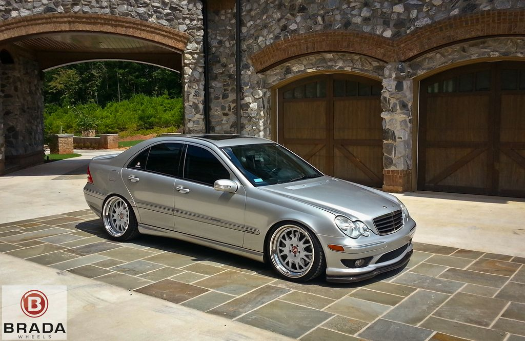 Showing off the brada project supercharged c230 on br7 39 s for Mercedes benz c230 kompressor 2006