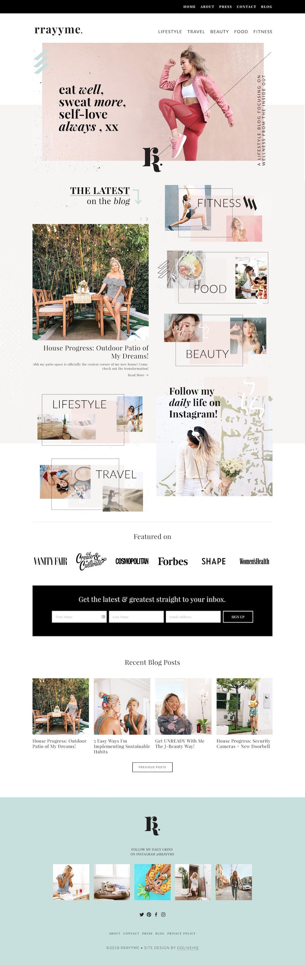 Top 10 Modern Edgy Squarespace Web Designs For Inspiration Big Cat Creative Squarespace Templates Squarespace Web Design Web Design Web Design Inspiration