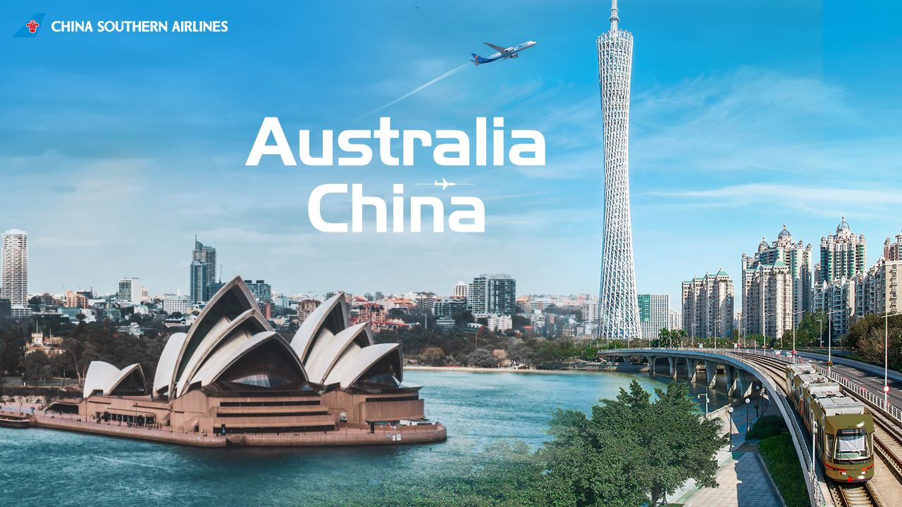 Opening your adventure of AustraliaChina route with a