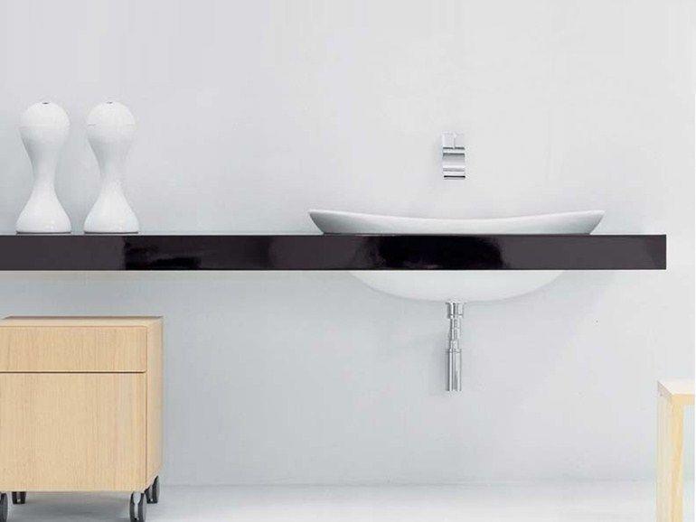 IO Doppel- Waschtisch by CERAMICA FLAMINIA Design Triplan Küchen - next line küchen