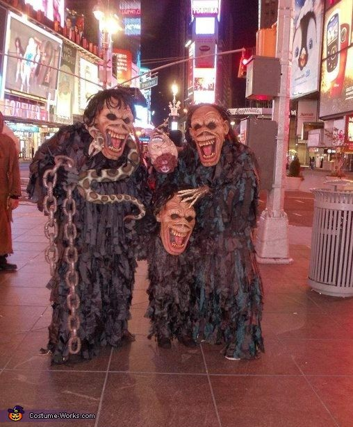 Tricky, Boo Boo & Boogie at Time Square, Tricky Brutality Costume