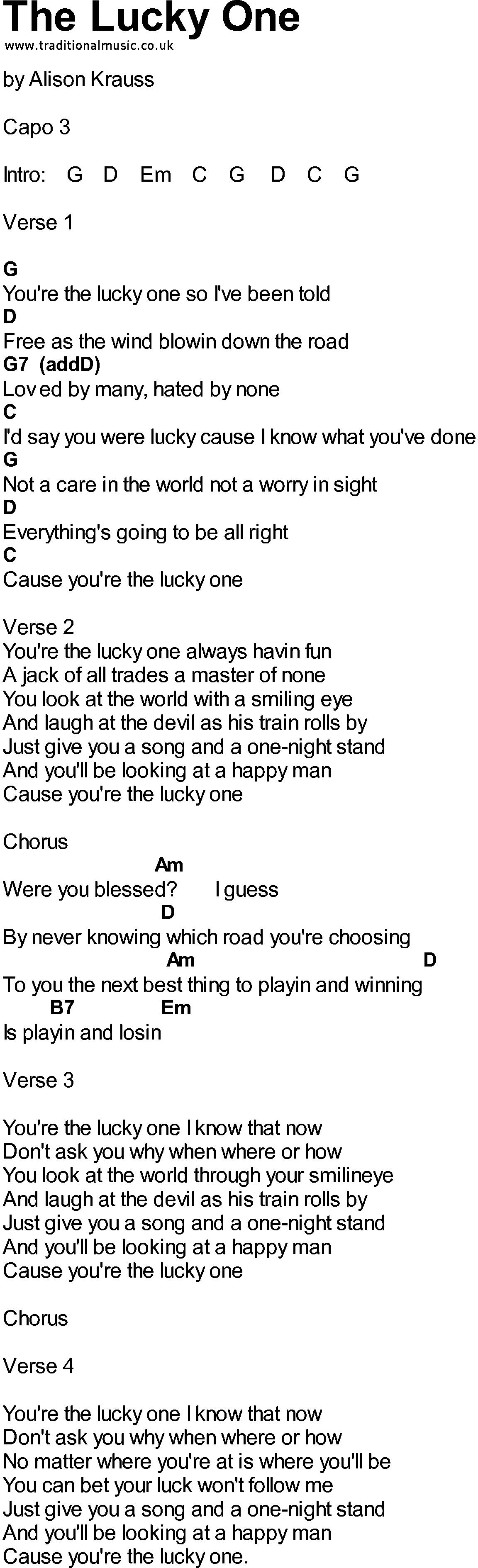 Welcome | Bluegrass Lyrics