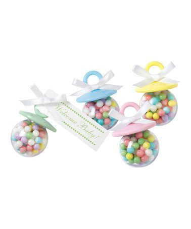 Take a look at this Pacifier Party Favor Set by Wilton on #zulily today!