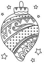 Coloriage boule de Noël torsadée   Coloriage boule de noel, Coloriage noel, Coloriage