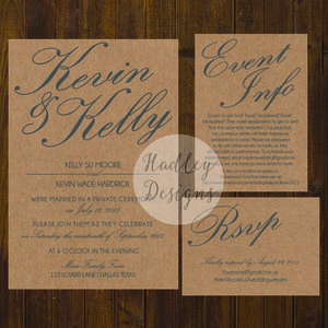 Wedding Accommodation Cards Reception Card Map