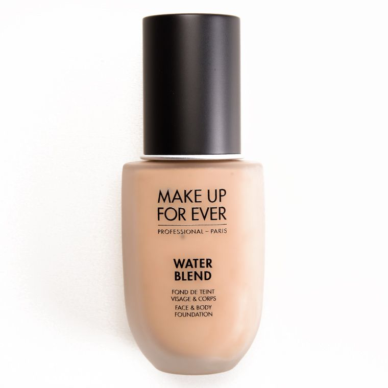 Make Up For Ever Water Blend Foundation Review Photos Swatches Body Foundation Eyeshadow Organizer Foundation Swatches