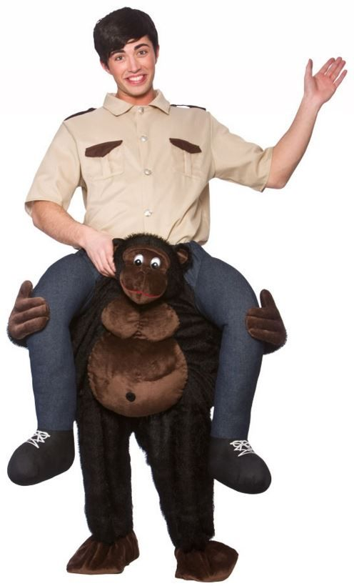 Carry Me Gorilla Costume by Fancy Pants Store -- Awesome products selected  by Anna Churchill