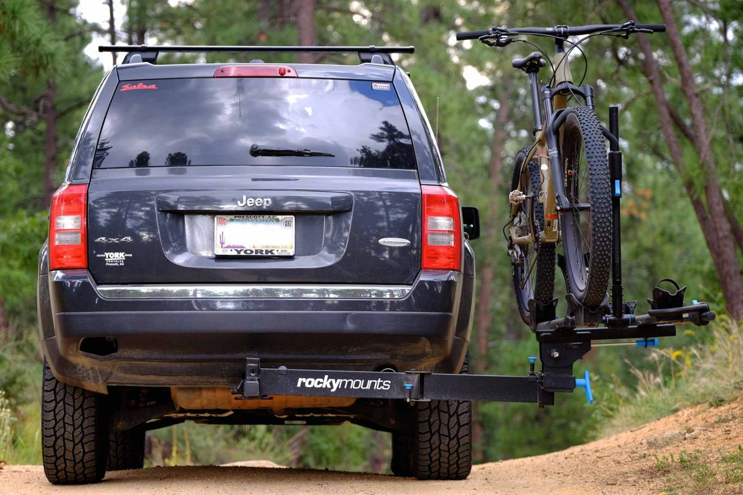 Field Tested Rocky Mounts Backstage Swing Out Hitch Rack Hitch