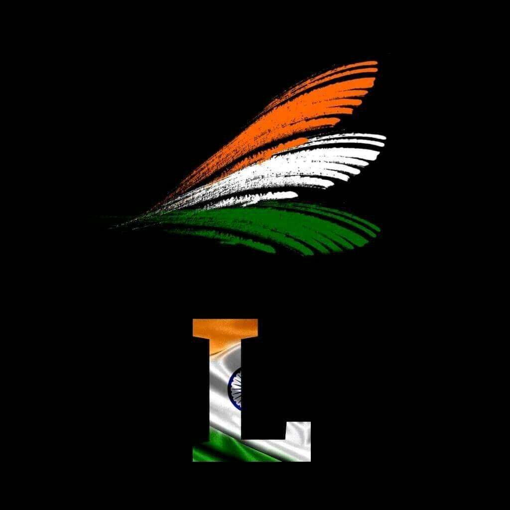L Indian Flag Flag Alphabet Indian Flag Images